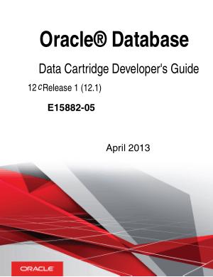 Oracle Database Data Cartridge Developer Guide