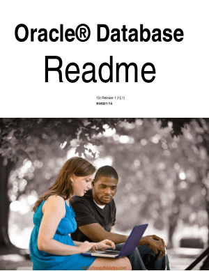 Free Download PDF Books, Oracle Database Readme