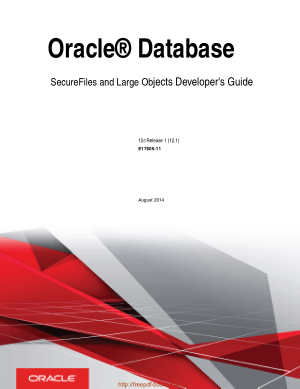 Oracle Database Secure Files And Large Objects Developer Guide