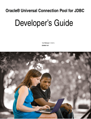 Free Download PDF Books, Oracle Universal Connection Pool For Jdbc Developer Guide