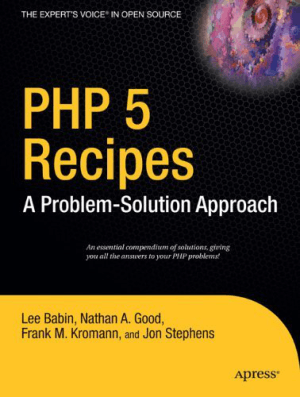 Free Download PDF Books, PHP 5 Recipes