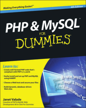 Free Download PDF Books, PHP And MySQL For Dummies 4th Edition