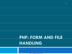 Free Download PDF Books, PHP Form And File Handling – PHP Lecture 8