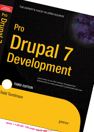 Free Download PDF Books, Pro Drupal 7 Development Third Edition