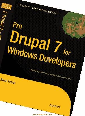 Free Download PDF Books, Pro Drupal 7 For Windows Developers