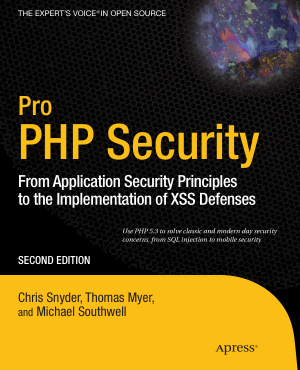Pro PHP Security 2nd Edition