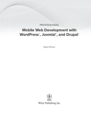 Free Download PDF Books, Professional Mobile Web Development With WordPress Joomla And Drupal