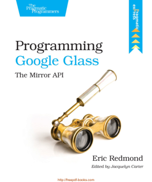 Programming Google Glass The Mirror Api