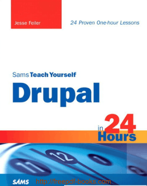 Free Download PDF Books, Sams Teach Yourself Drupal In 24 Hours