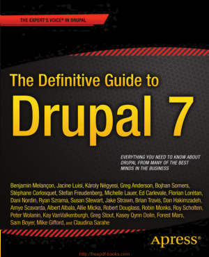 Free Download PDF Books, The Definitive Guide To Drupal 7