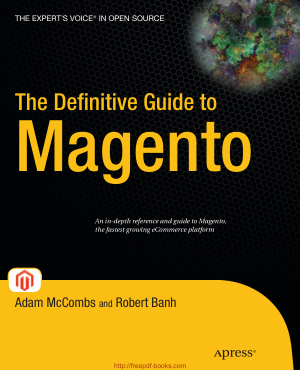 Free Download PDF Books, The Definitive Guide To Magento