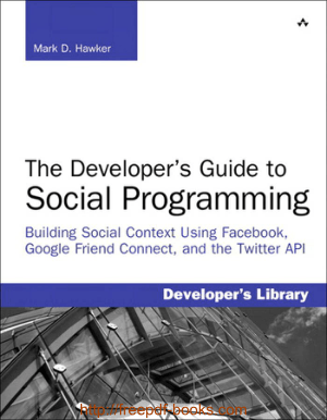 Free Download PDF Books, The Developers Guide To Social Programming