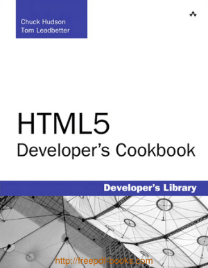 Html5 Developer Cookbook