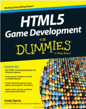 Free Download PDF Books, HTML5 Game Development For Dummies