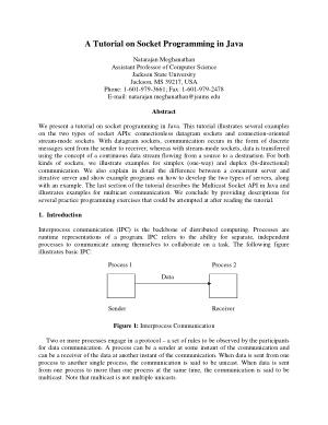 Free Download PDF Books, A Tutorial On Socket Programming In Java