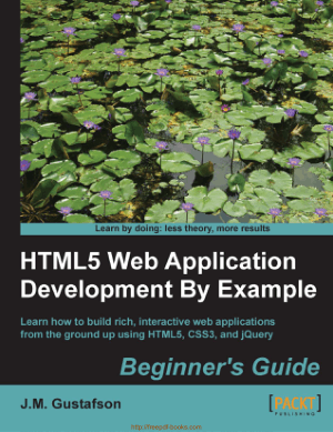 Free Download PDF Books, HTML5 Web Application Development By Example