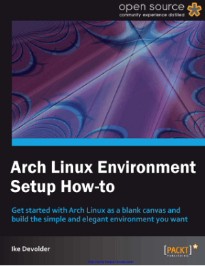 Free Download PDF Books, Arch Linux Environment Setup How-To