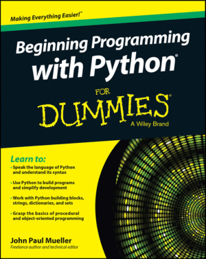 Beginning Programming With Python For Dummies, Pdf Free Download