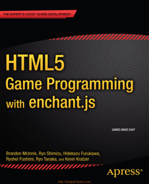 Free Download PDF Books, HTML5 Game Programming With Enchant.Js