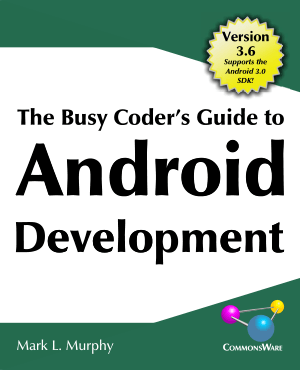 Android Development Busy Coder Guide