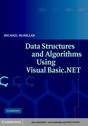 Datastructures And Algorithmsusing Visual Basic.Net