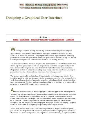 Free Download PDF Books, Designing A Graphical User Interface, Pdf Free Download