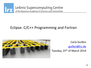 Eclipse C C++ Programming And Fortran Course