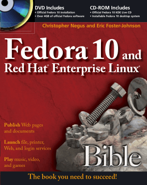 Free Download PDF Books, Fedora 10 And Red Hat Enterprise Linux Bible
