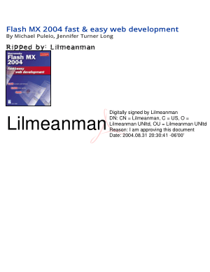 Free Download PDF Books, Flash Mx 2004 Fast And Easy Web Development