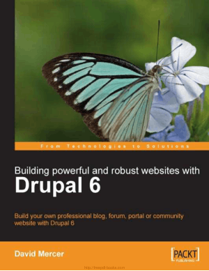 Free Download PDF Books, Building Powerful And Robust Websites With Drupal 6