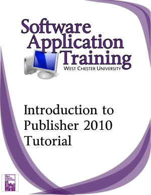 Free Download PDF Books, Introduction To Publisher 2010 Tutorial