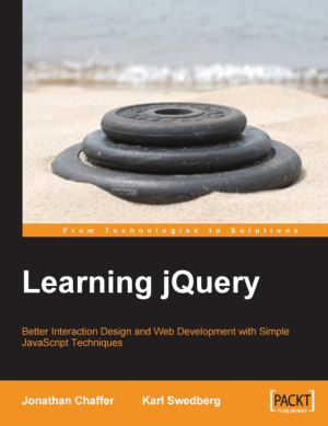 Free Download PDF Books, Learning jQuery, Learning Free Tutorial Book