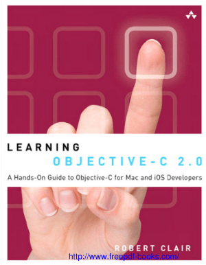 Free Download PDF Books, Learning Objective C 2