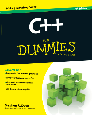 C++ For Dummies 7th Edition Book