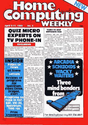 Home Computing Weekly Technology Magazine 005