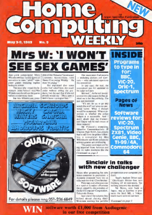 Home Computing Weekly Technology Magazine 009