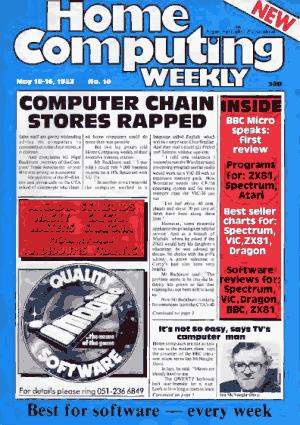 Home Computing Weekly Technology Magazine 010