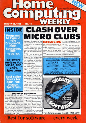 Free Download PDF Books, Home Computing Weekly Technology Magazine 011