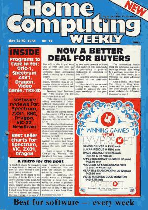 Home Computing Weekly Technology Magazine 012