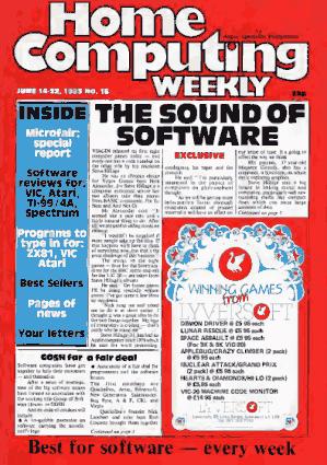 Free Download PDF Books, Home Computing Weekly Technology Magazine 015