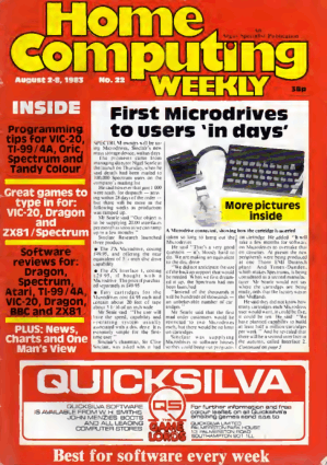 Home Computing Weekly Technology Magazine 022