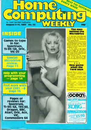 Home Computing Weekly Technology Magazine 023