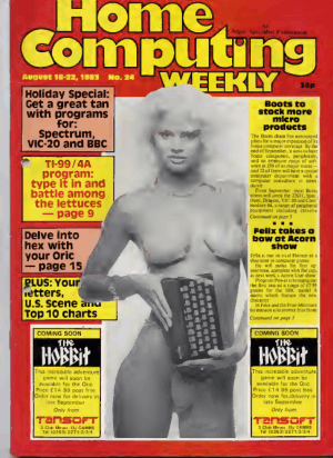 Home Computing Weekly Technology Magazine 024