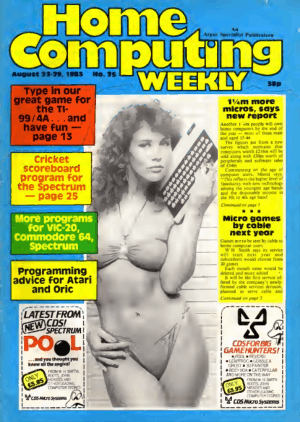 Home Computing Weekly Technology Magazine 025