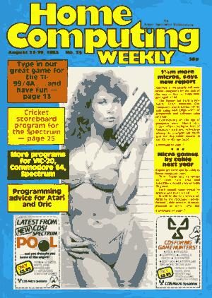Free Download PDF Books, Home Computing Weekly Technology Magazine 025