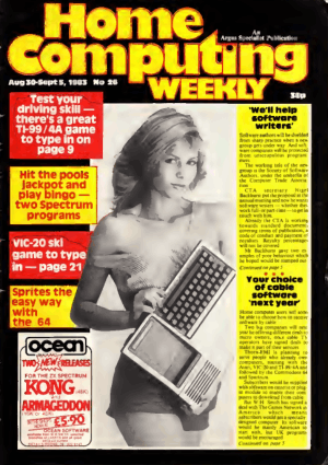 Home Computing Weekly Technology Magazine 026