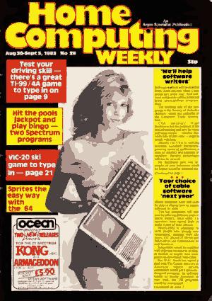 Free Download PDF Books, Home Computing Weekly Technology Magazine 026