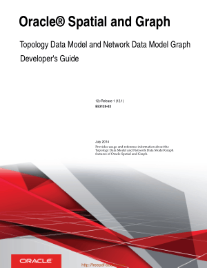Oracle Spatial And Graph Topology Data Model And Network Data Model Graph Developers Guide