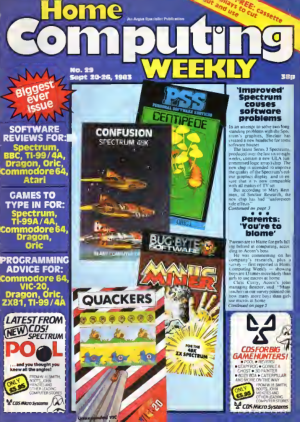 Home Computing Weekly Technology Magazine 029