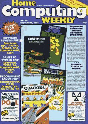 Free Download PDF Books, Home Computing Weekly Technology Magazine 029